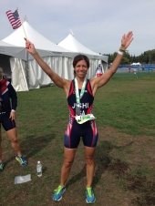 Reem Jishi Triathlon Worlds